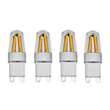shenmeile 3W LED G9 Lights Dimmable G9 COB 250 lm Warm White Cool White AC220 V 4 pcs