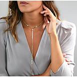 Жен. Ожерелья-бархатки В форме свечи Сплав Мода Euramerican Бижутерия Назначение Повседневные