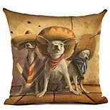 1pcs cute dog printing style pillowcase cushion cover