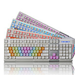 Ajazz AK10 104Keys USB Wired Backlit Game Keyboard With 150CM Cable