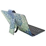 For iPad Case with Keyboard USB English Version 9-10.5 inch Universal Mandala PU leather Case For iPad Pro 10.5 iPad (2017) Pro9.7 Air Air2 IPAD234
