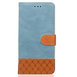 Case voor apple iphone 7 plus 7 case kaarthouder portemonnee met tribune flip reliëf volledige body case vaste kleur hard pu leer voor 5g