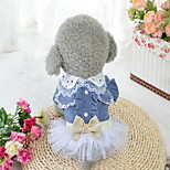 Dog Dress Dog Clothes Casual/Daily Birthday Princess
