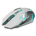 Lithium Battery Backlit 1600DPI Mute 2.4Ghz Wireless USB Gaming Mouse