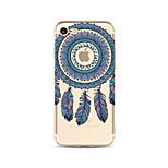 Etui til iphone 7 plus 7 cover gennemsigtigt mønster bagcover case dream catcher soft tpu til apple iphone 6s plus 6 plus 6s 6 se 5s 5c 5