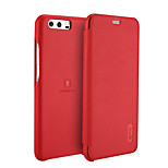 Lenuo Case for Huawei P10 Plus P10 Cover Card Holder Flip Full Body Case Solid Color Hard PU Leather for Huawei P10 Lite P9 Lite Mate 9