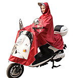 To the motorcycles electric car raincoat to increase the transparent outdoor men and women puppets adult custom lengthened body raincoats
