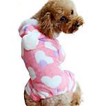 Собака Комбинезоны Одежда для собак На каждый день Сердца