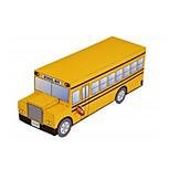 Пазлы Набор для творчества 3D пазлы Строительные блоки Игрушки своими руками Автобус