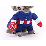 Кошка Собака Костюмы Одежда для собак Косплей Носки детские Желтый Красный Синий