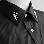 Women's Men's Brooches Antlers Design Euramerican Fashion Personalized Alloy Jewelry For Halloween Dailywear Casual