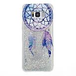 Voor Samsung Galaxy S8 Plus S8 case cover droomvanger patroon flash poeder quicksand tpu materiaal telefoon hoesje s7 rand s7 s6 rand s6