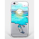 Kotelo iphone 7 plus iPhone 6 maisemat kuvio puhelin pehmeä kuori iphone 7 iphone 6 / 6s plus iphone 6 / 6s iphone 5 5s se