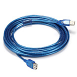 USB 2.0 Adapter Cable, USB 2.0 to USB 2.0 Adapter Cable Male - Male 5.0m(16Ft)