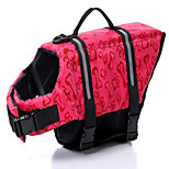 Dog Life Vest Dog Clothes Casual/Daily Birthday Fashion Solid Blushing Pink Blue