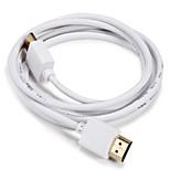HDMI 1.4 Кабель, HDMI 1.4 to HDMI 1.4 Кабель Male - Male 1.5M (5Ft)