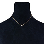 Жен. Ожерелья-бархатки Бижутерия В форме сердца Медь Мода По заказу покупателя Euramerican Бижутерия НазначениеНа каждый день