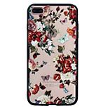 Для apple iphone 7plus 7 phone case combo бабочка цветы узор окрашенный лак тиснение скраб телефон корпус 6s плюс 6plus 6s 6 se 5s 5