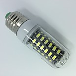 5W AC220-240V White Warm white E14 E27 LED Corn Lights T 56 SMD 5733 500 lm   Decorative  Segmented dimmer 1 pcs