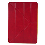 For Apple iPad (2017) Pro 9.7'' Case Cover with Stand Flip Auto Sleep/Wake Up Full Body Case Solid Color Hard PU Leather Air Air 2 iPad234 Mini 1234
