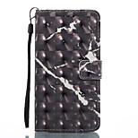 Lg k8 (2017) k10 (2017) kotelon kansi musta kuvio 3d maalattu kortti stentin lompakko puhelinkotelo lg k7 k8