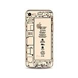 Obudowa dla telefonu iphone 7 plus 7 okładka przezroczysta obudowa tylna obudowa słowo słowo / wyrażenie kreskówka miękka tpu dla jabłek