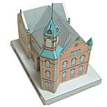 Пазлы Набор для творчества 3D пазлы Строительные блоки Игрушки своими руками Замок Знаменитое здание