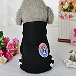 Dog Clothes/Jumpsuit Dog Clothes Casual/Daily Solid Blushing Pink Ruby Gray Black