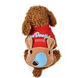 Собака Толстовка Одежда для собак На каждый день Носки детские Желтый Красный