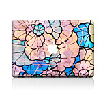 1 pieza Anti-Arañazos Flor De Plástico Transparente Adhesivo Diseño ParaMacBook Pro 15'' with Retina MacBook Pro 15 '' MacBook Pro 13''