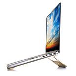 Регулируемая подставка Складной Другое для ноутбука Macbook Ноутбук Всё в одном Алюминий