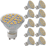 5W Точечное LED освещение MR11 29 SMD 5050 380 lm Тёплый белый Холодный белый Декоративная AC 220-240 V 10 шт.