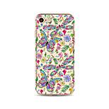 Чехол для iphone 7 плюс 7 крышка прозрачный узор задняя крышка чехол бабочка цветок мягкий tpu для яблока iphone 6s плюс 6 плюс 6s 6 se 5s