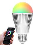 9W LED Έξυπνες Λάμπες A60(A19) 20 SMD 5730 900 lm RGB Άσπρο Διπλό χρώμα πηγής φωτόςΥπέρυθρος Αισθητήρας Με ροοστάτη Τηλεχειριζόμενο WIFI
