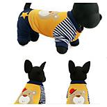 Собака Толстовка Одежда для собак На каждый день Носки детские Желтый Зеленый