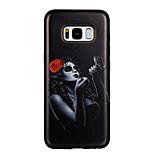 Case voor Samsung Galaxy S8 S8 plus case cover make-up meisje patroon pc tpu combo sterke relais druppel telefoon hoesje voor de melkweg