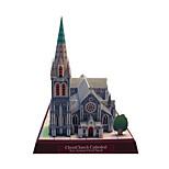 Пазлы Набор для творчества 3D пазлы Строительные блоки Игрушки своими руками Знаменитое здание Церковь Архитектура