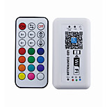 21 sleutel draadloze rf wifi controller smartphone app controle met ios of android systeem (rgb)