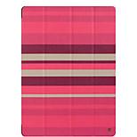 Для яблочного ipad pro 12,9 '' чехол для крышки с подставкой flip origami полный корпус корпуса линии / волны твердая кожа pu