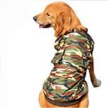 Собака Комбинезоны Одежда для собак На каждый день Полиция/армия