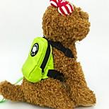Кошка Собака Собака обновления Животные Корпусы Компактность Дышащий Однотонный Оранжевый Красный Зеленый