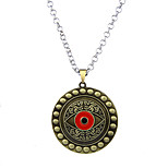 Lureme Vintage Jewelry Doctor Strange Eye of Agamotto Pendant Necklace