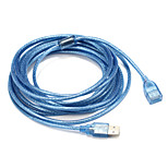 USB 2.0 Adapter, USB 2.0 to USB 2.0 Adapter Male - Female 5.0m(16Ft)