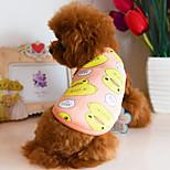 Собака Жилет Одежда для собак На каждый день Носки детские Оранжевый Темно-синий Синий