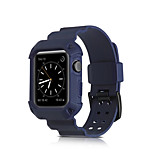 For 42mm 38mm Apple Watch iWatch Silicone Soft Skin Watch Band Strap Case Cover