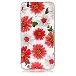 Чехол для huawei p8 lite (2017) p10 lite phone case tpu материал imd процесс цветы шаблон hd флеш-телефон телефон p9 lite p8 lite