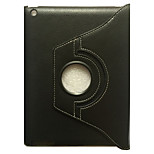 For Apple iPad 4/3/2 Case Cover with Stand Flip 360 Rotation Full Body Case Solid Color Hard PU Leather