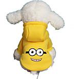 Собака Толстовки Одежда для собак На каждый день Носки детские Желтый Светло-синий Белый/Черный