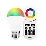 6W Умная LED лампа A60(A19) 14 SMD 5050 600 lm RGB + белыйИнфракрасный датчик Диммируемая На пульте управления WiFi Контроль APP