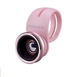 Momax объектив с объективом для объективов с широкоугольным объективом для объективов с алюминиевым покрытием 15-кратный сотовый телефон